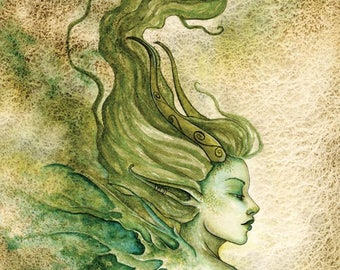 FAE fairy 8X10 PRINT by Amy Brown