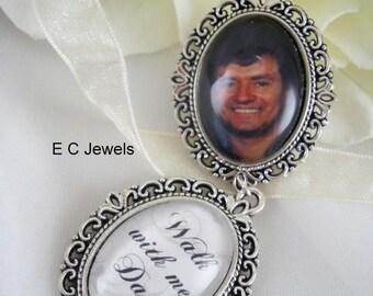Summer Sale Custom Photo/Memorial Bouquet Charm