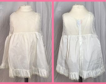 1950s Little Girl's Organza Slip or Petticoat by Pemae - Size 3