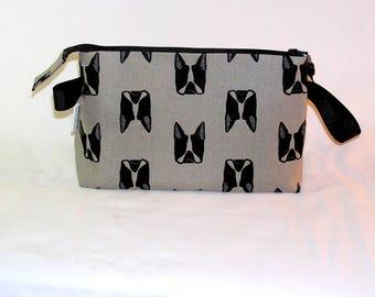 Boston Terriers Tall Mia Bag - Premium Fabric