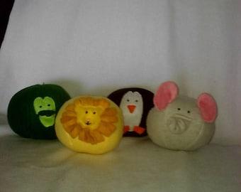Flash Sale Lion, Elephant, Penguin, and Crocodile Soft Fleece Balls