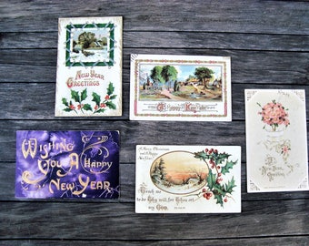 India Old Postcards Stamps Elephants Asia Post Backgrounds