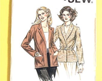ON SALE Uncut  Kwik Sew 1041 1970s Vintage Sewing Pattern Sizes 8-12