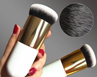 New Chubby Thick Pier Foundation Brush Flat Cream Makeup Brushes Professional Cosmetic Make-up Brush