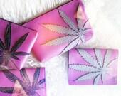 Custom Cannabis Clutch Bag