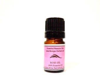 Rose Essential Oil  Indian Rose Attar   Uncut     - U Pick Size