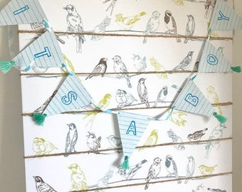 Its a Boy Bunting/ Baby Boy Bunting/ Baby shower/ Celebration/ Garland/ Baby boy/ Baby/ welcome home baby/