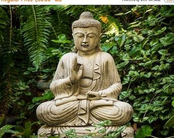 SUMMER SALE-Ends July 5- Buddhism Photograph, Buddha Statue Photo Japanese Garden Zen Buddhism Meditation Peaceful Yoga Wall Art oth49c