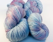 Melted Peeps - Hand Dyed Superwash Merino Sock Yarn - SUPER SQUISHY!
