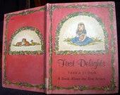 First Delights, Tasha Tudor, Vintage Childrens Hardback, A Book About the Five Senses, 1966 Platt & Munk