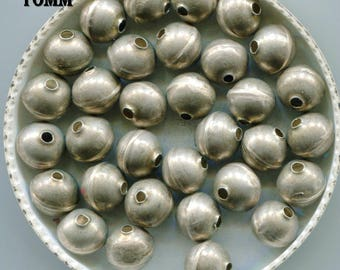 Navajo Sterling Bench Made Round Pearl Beads,SS332.SS333.SS334.SS338.SS341R.SS347.SS348.SS352.SS355