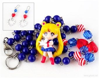 Sailor Moon Jewelry Set, Magical Girl, Mahou Kei, OOAK, Cosplay