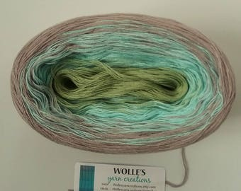AQUARELLE - Color Changing Cotton yarn - 480 yards/100 gr - Fingering Weight