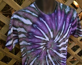 Shadow - Tie Dye Shirt, Tie-Dye T-Shirt, Tie Dye Clothing, Tie Dyed Clothes, Hippie Clothing, Hippy Clothes,