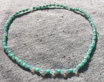 Ankle Bracelet, Stretchy Anklet, Custom Anklets, Beaded Anklet, Unique Jewelry, Gifts for Her, Unique Gifts, Beach Jewelry, Anklets
