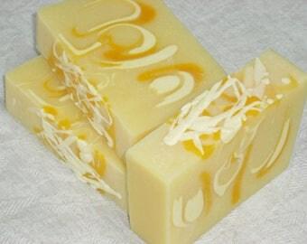 Lemon Soap / Lemon Drop Soap / Limoncello Soap / Artisan Soap / Handmade Cold Process Soap