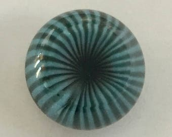 Paperweight Glass Button with Self Shank - NBS Small