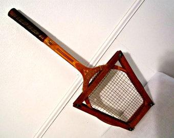 Antique Tennis Racket Bill Tilden Tournament Tennis Racket Vintage Tennis Racket