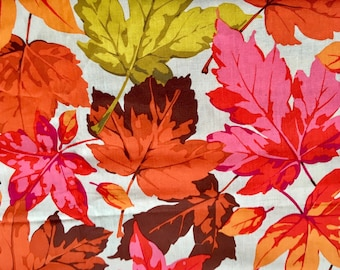 Martha Negley OOP, rare, Maples, Autumn Medley, leaf fabric, fall fabric, autumn, half yard, yardage available