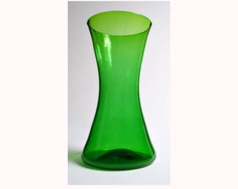 BLENKO #5519 Jade green vase 1958