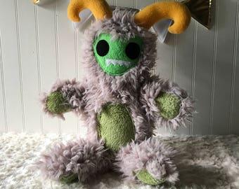 Mountain Monster Buddy, Toy Monster, Plush Monster, Yeti