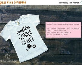 ON SALE CRAFTERS Gonna Craft shirt