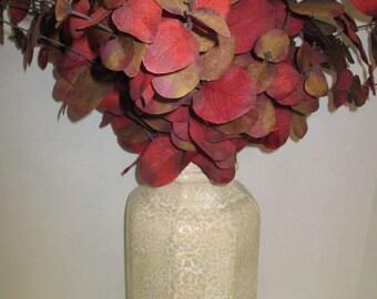 Large Ceramic Cobblestone Vase