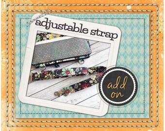 Adjustable - Detachable - Strap - iPad Pro Zip Strap - MacBook Pro zip Strap - iPad Zip Case Strap - Add-On Strap - Laptop Case Strap