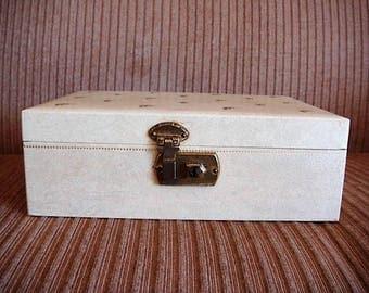 Jewelry Box Tiered Mirrored Jewelry Box Mele Like