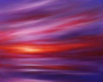 Sunset Embers III