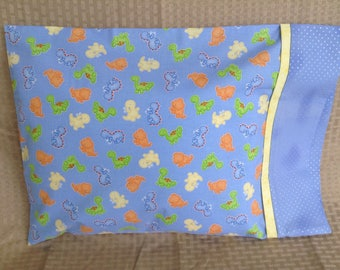 Baby Dinosaur travel pillowcase