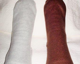 Men's Fleece Socks, Bed Socks, Warm Socks for Men, Soft Handmade  Warm Men's Socks, Men's Polar Fleece Socks, Gift for Dad, Gifts