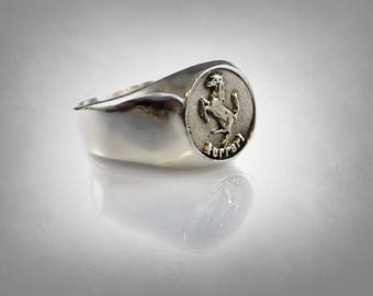 rare enzo f 430 360 sterling silver 925 car ring