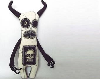 Dark Art Creepy Doll Insect Voodoo Doll Soft Sculpture Art Doll  Macabre Oddity Scary Prop