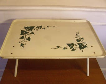 Vintage 1950's  Breakfast In Bed Tray