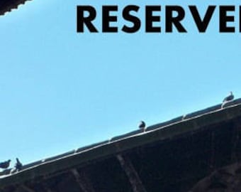 Reserved Listing only