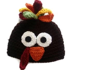 Turkey Hat Thanksgiving Photo Prop