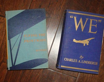 Flying The Printways Heath 1st Ed 1938 USA Experience Through Reading WE by Charles A Lindbergh 1927 Flier's Story Life Transatlantic Flight