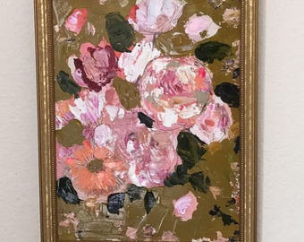 Golden Original Painting
