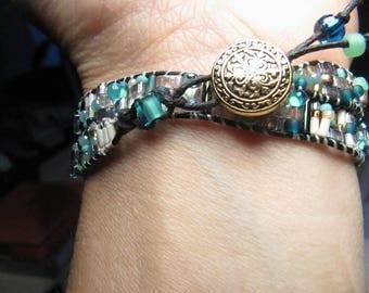 Miyuki Bead wrap bracelet