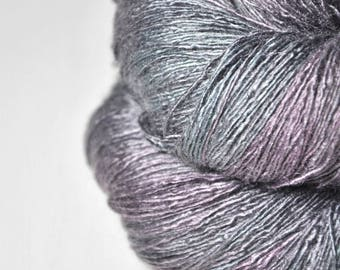 Army of the Dead - Tussah Silk Lace Yarn