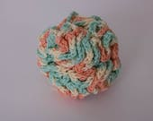 Loofah, 100% Cotton Bath Pouf, Extra Large Bath Sponge, Eco Friendly Bath and Spa Accessory