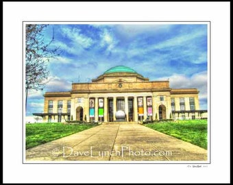 Richmond VA Virginia - Science Museum Of Virginia - Broad St Station - Fine Art Photo Prints by Richmond Virginia Photographer Dave Lynch