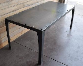 Simple Metal Table