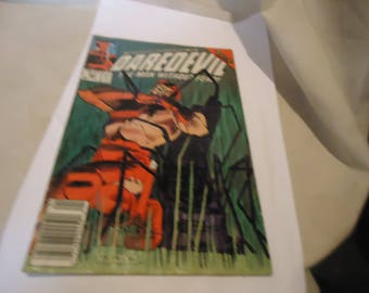 Vintage 1989 Daredevil The Man Without Fear Jan #262 Marvel Comic Book, collectable