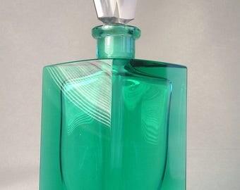 A Vintage West German Larger Perfume Bottle A7