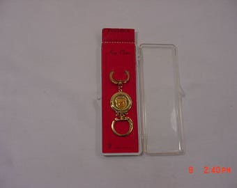 Vintage Detroit Motor City Double Sided Souvenir Key Chain - New Old Stock  18 - 64