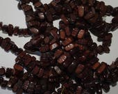 20 Dark Brown Tagua Nut Beads, Chippie Beads, EcoBeads, Natural Beads, Organic Beads, Vegetable Ivory Beads