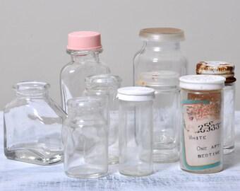 Pill bottle etsy for Small pill bottles