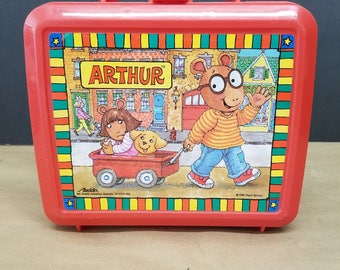 Vintage Arthur Lunchbox and Thermos